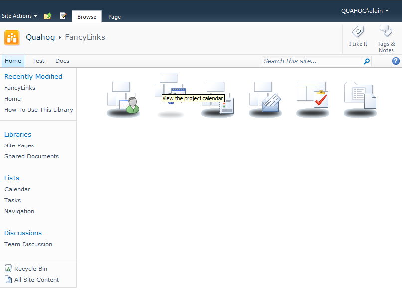 Fancy SharePoint navigation using jQuery and the Client Side